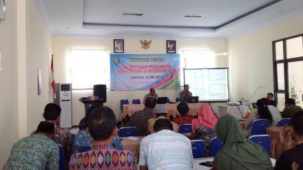 15 Desa se Kecamatan Tugu mengikuti BIMTEK Simulasi Sistem Pengelolaan Keuangan Desa