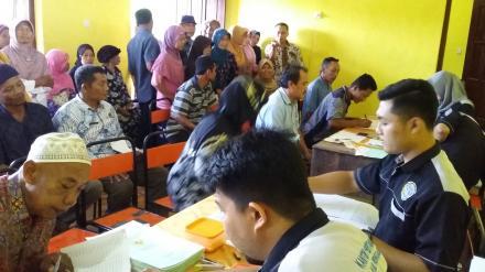 Pembagian Sertipikat Program PTSL Desa Banaran Tahun 2018
